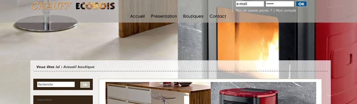 chauff 39 ecobois distributeur granul s de bois pour votre po le pellet sur armenti res. Black Bedroom Furniture Sets. Home Design Ideas
